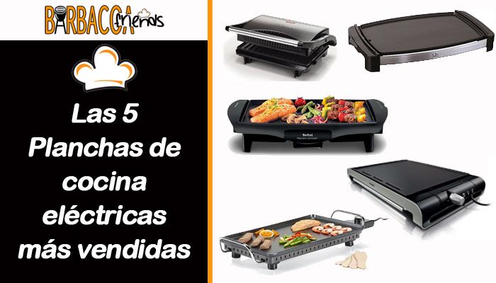 Las 5 planchas de cocina el ctricas m s vendidas - Plancha de cocina ...