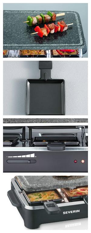 Comparativa Raclettes: Bomann RG 2279 vs Severin RG 2343