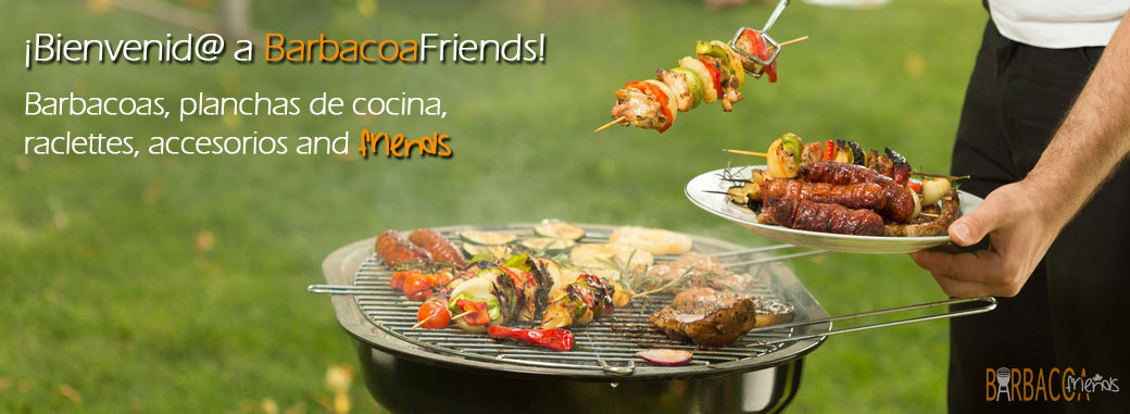 Bienvenid@ a Barbacoa Friends. Encuentra tu barbacoa ideal
