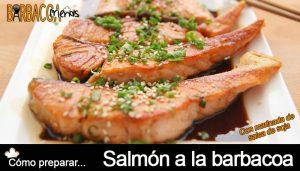 Receta de salmón a la barbacoa barbacoafriends