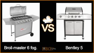 COMPARATIVA Broil-master VS Bentley 5