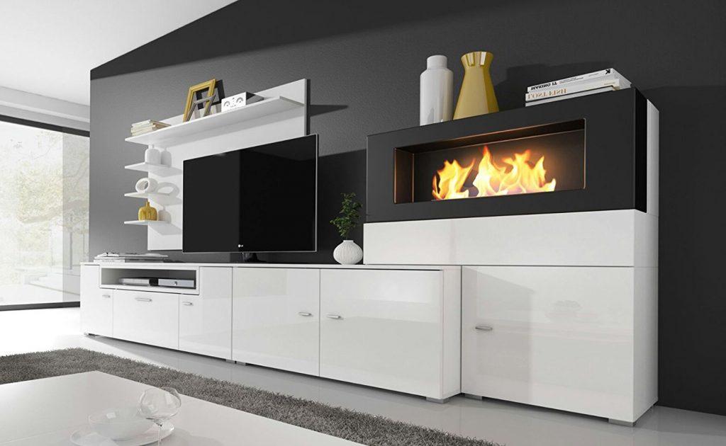 Chimeneas electricas con mueble productos slo bajo pedido - Muebles la chimenea catalogo ...