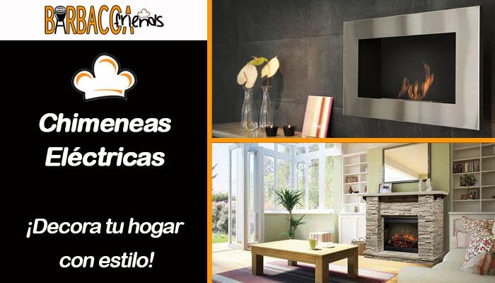 Chimeneas el ctricas decora y calienta tu hogar con estilo - Home disena y decora tu hogar ...