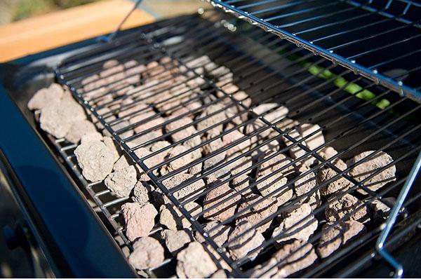 Piedra volc nica para barbacoa y la mejor barbacoa de gas - Barbacoas con tapa ...