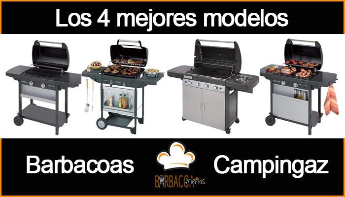 Los 4 mejores modelos de barbacoas Campingaz