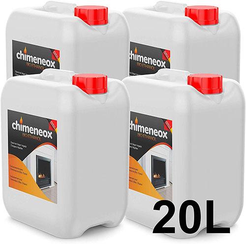 Bioetanol para chimeneas de bioetanol