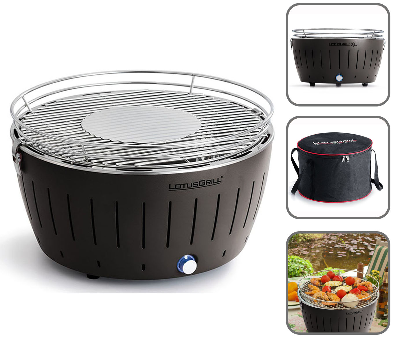 Especificaciones de la LotusGrill G-AN-435