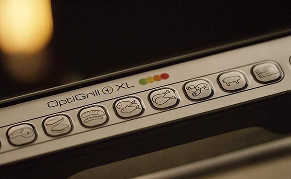 Características destacadas de la plancha eléctrica Tefal Optigrill XL GC722D