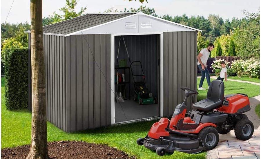 Características de Habitat et Jardin - Caseta de metal para jardín