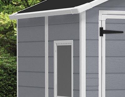 Ficha técnica de Keter - Caseta de jardín exterior Manor 6x5 DD, Color gris