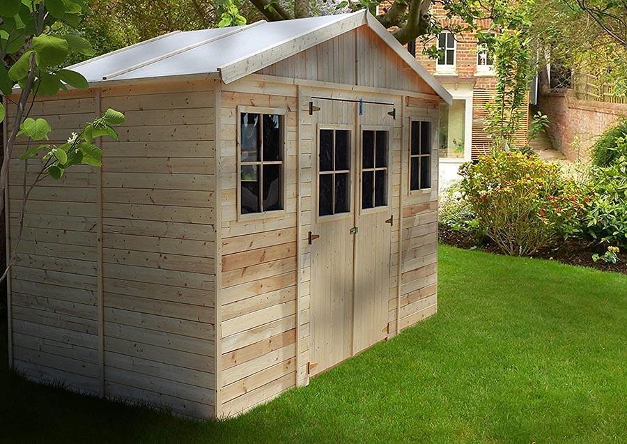 Qué es una caseta de madera para jardín